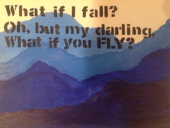 Inspirational painting
