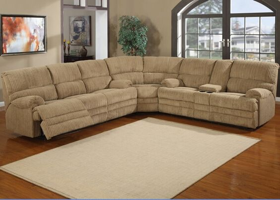 Living Room Furniture Sets 2013 3 pc denton hazel cordy fabric upholstered sectional sofa with