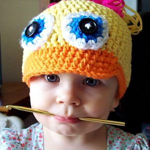 Duck Hat by Stitch11: Hat Crochet Patterns, Free Pattern, Crochet Hats, Animal Crochet, Crochet Baby Animal Hats, Free Crochet Hat Patterns, Crochet Animal Hats