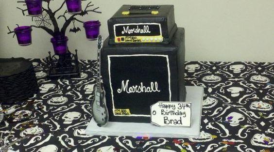 Birthday Cake - MarshallForum.com