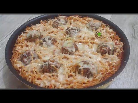 مطبخ البيت العراقي Kitchen Iraqi House سباكتي بكرات اللحم Food Breakfast Desserts