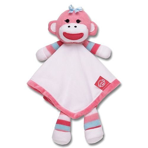 jordon needs this Baby Starters Pink Sock Monkey Snuggle