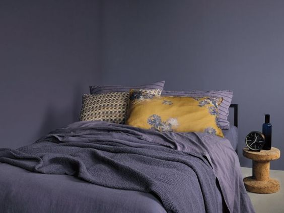 #Society - Grey lavender bedding set  www.societylimonta.com