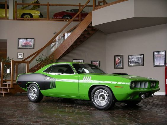 My favorite american muscle car ever.. the baracuda! Could do with a better color though haha1971 Barracuda #muscle #car. OMFG!!!! I found my car!!!!!!