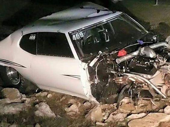 Street Outlaws Chief Wrecks New Car