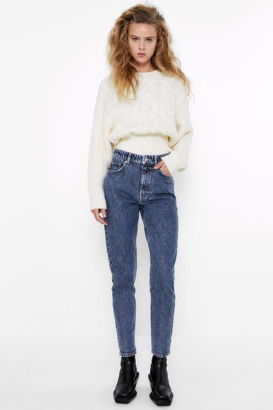 Jeans Mom Fit Zara Espana Mom Jeans Ripped Mom Jeans Jeans Fit