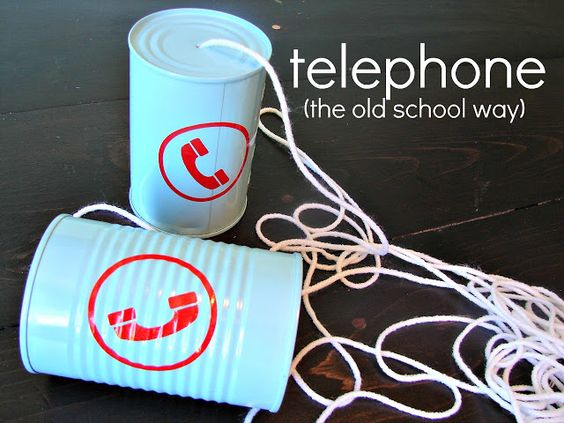 Long before cell phones and texting, we made tin can phones and used them to talk to friends across the yard or down the street. Why not try it at home with the kids?