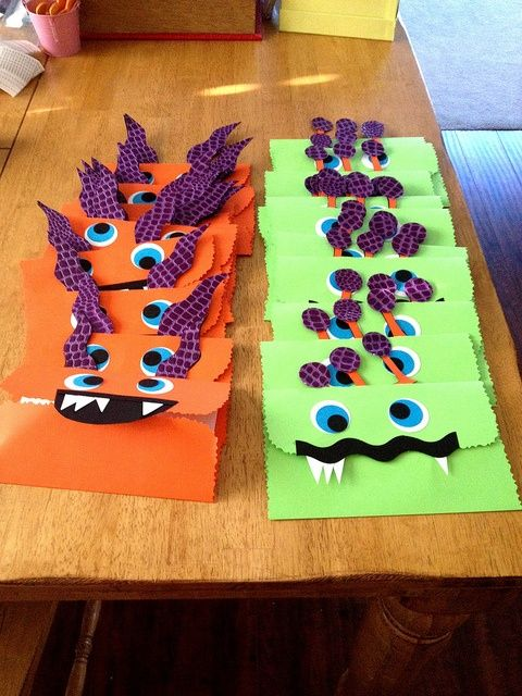 Silly Monster Party Invites The mouths of the monsters open up – Monster Party Invites