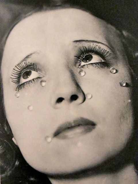 Man Ray - Tears, 1930 - I used to have this poster from the High Museum of Art in my room during high school