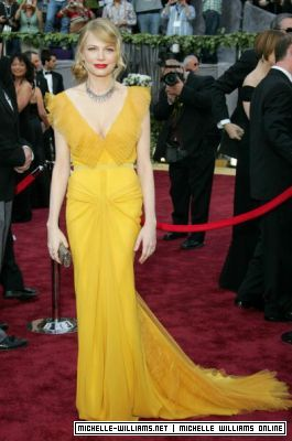 Michelle Williams, Oscars 2006 - I've always loved this dress <3