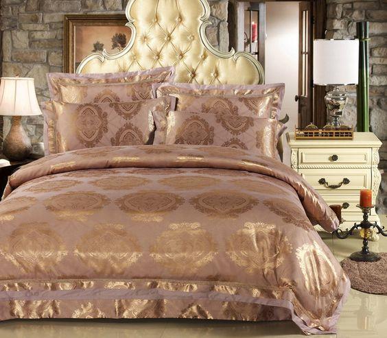 Cama de seda casamento and roupas de cama on pinterest - Edredon de seda ...