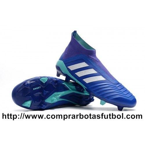 velocidad Cierto adjetivo  Botas De Futbol Adidas Predator 18+ FG Real Blanco Violeta ES | Chuteiras,  Botas, Acessórios de futebol