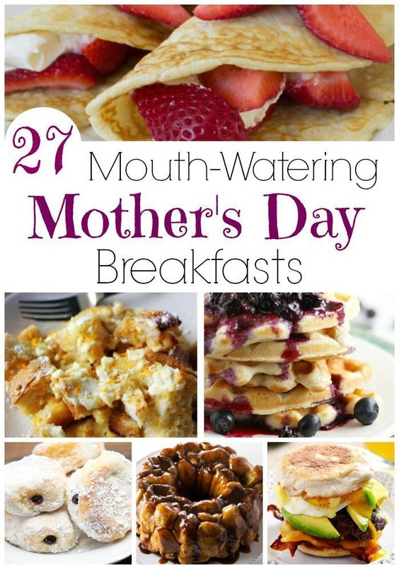 Delicious Mother's Day Breakfast Recipes the Whole Family Will Love