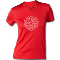 A great, comfortable fitting volleyball performance tee to wear under your equipment or while you are working out. Wicks moisture away to keep the body dry. Anti-microbial treatment prevents odors from perspiration.