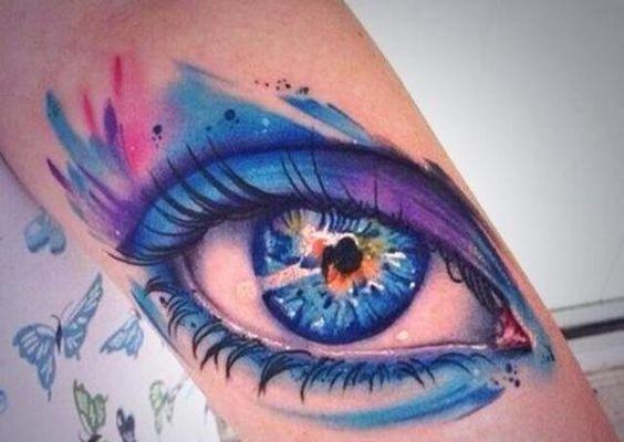 30 Increíbles Tatuajes Acuarela que vas a Querer Hacerte
