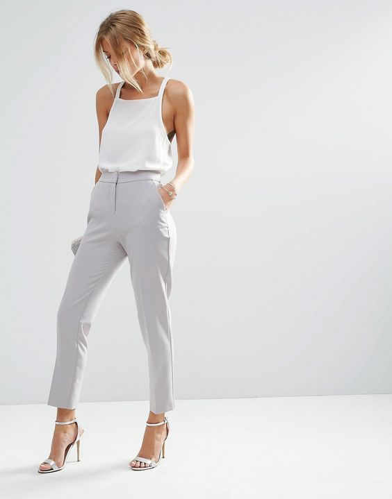 ASOS Premium Clean Tailored Pants