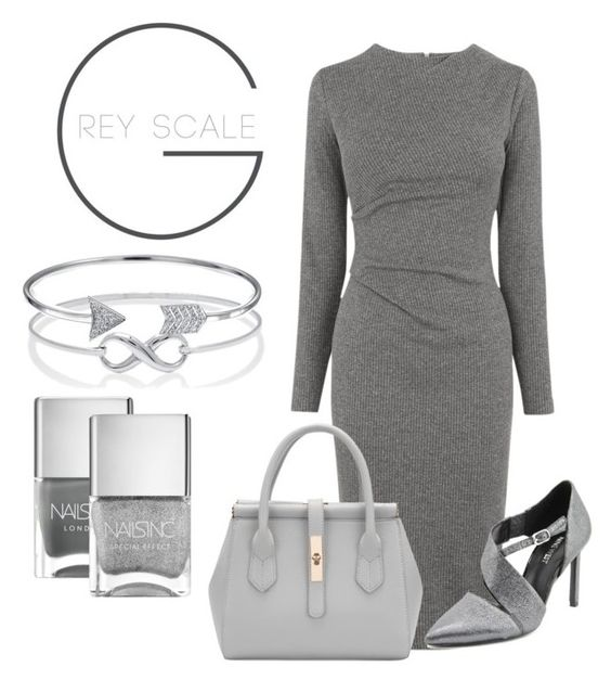 """""""outfit #018"""" by ishtori-ls on Polyvore featuring Whistles, Bling Jewelry, Nails Inc. and Nine West"""