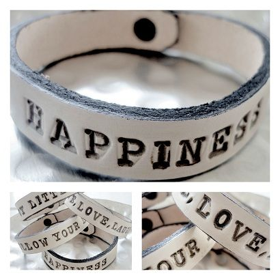 Bracelet with message