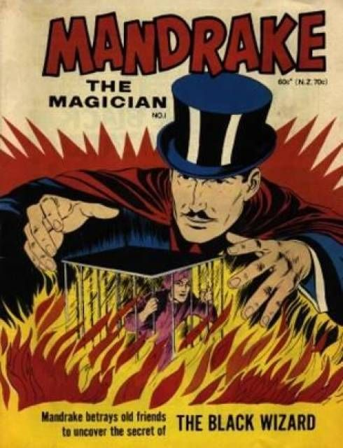 Mandrake (Volume) - Comic Vine