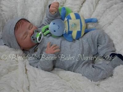 Solid silicone eco flex 30 baby boy with fully sculpted mouth