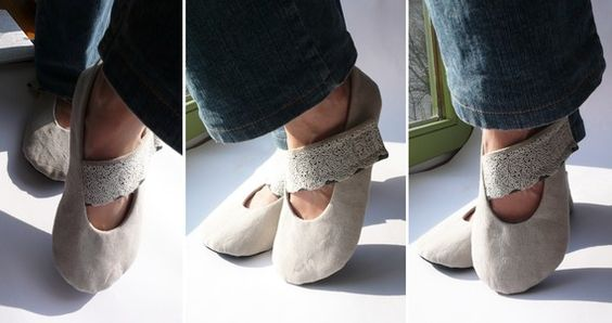 Homemade shoes...!!.
