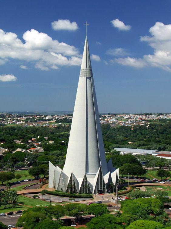 Catedral de Maringá - Brazil