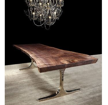 What an amazing reclaimed wood table...