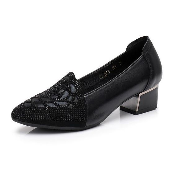 29 Low Heel Shoes To Inspire Yourself shoes womenshoes footwear shoestrends