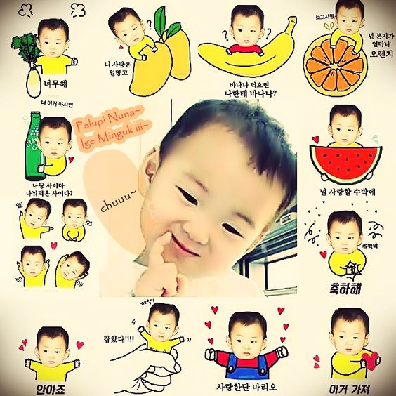 @songilkook appa... I loved sng tripllets so much.... eottoke yo~ minguk