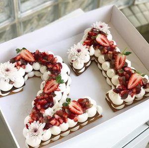 Interpretación de los pasos digitales de la torta 1