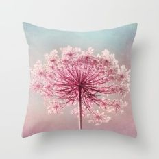 THE QUEEN WORE PINK Throw Pillow