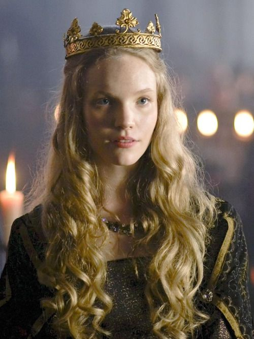 Tamzin Merchant as Catherine Howard in The Tudors