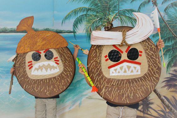 DIY Family Moana Movie Costumes