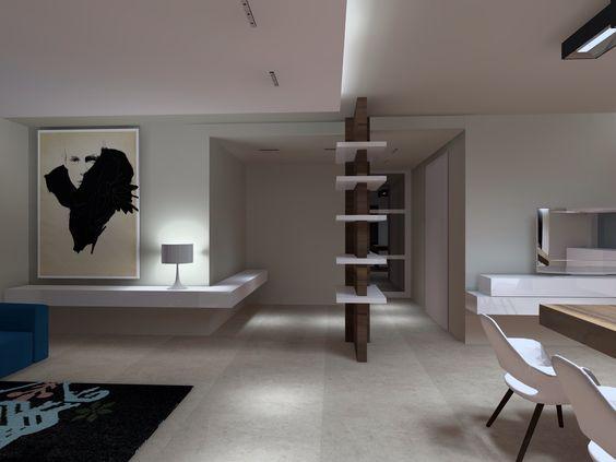 Open space - interiors http://www.lab4arc.com/#!residenza-privata/ckxg
