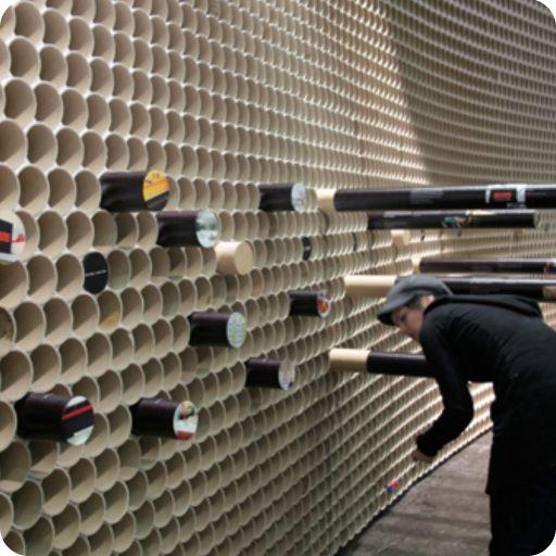 de cartón detalles edificio tubos cartn tubos grandes tubos de carton