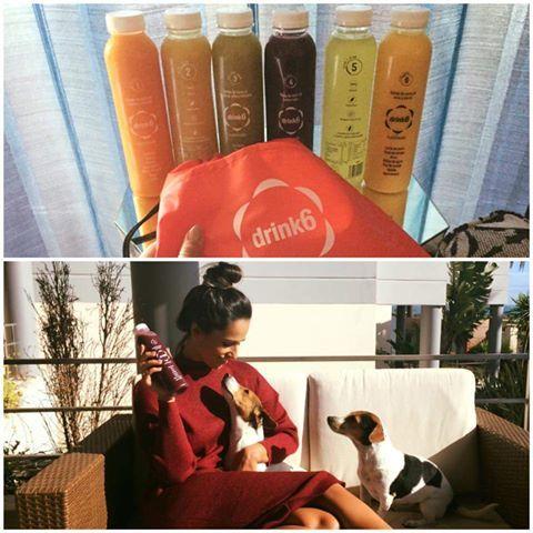 Sabias que a belíssima e talentosa actriz e modelo Rita Pereira já provou e gostou do #planodetox da #Drink6? peça o seu também no nosso site! www.drink6detox.pt #RitaPereira @hyndia #detox #saúde #vidasaudável #Drink6