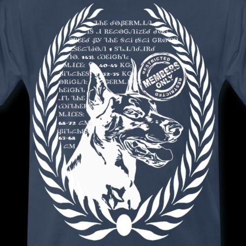 Dobermann Hund Hundekollektion Weiss Dobermann Hunde Hunde Dobermann