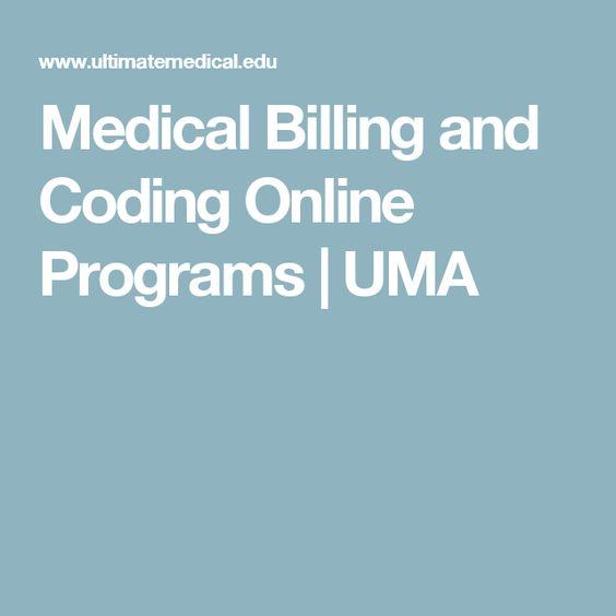 Medical Billing and Coding Online Programs   UMA