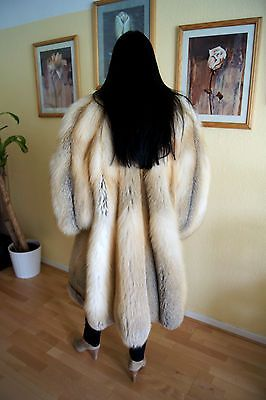 SALE SALE Pelzmantel Golden Island Fuchs Pelz fox fur coat шуба