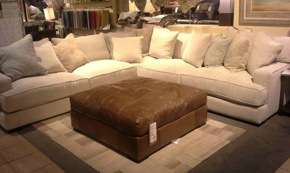 NEW AT MATHIS BROTHERS, Matthew 3 Piece Sectional. Available In White, Or  Customize With Your Choice Of 100+ Fabric. Regular Price $3912.95, Mathisu2026
