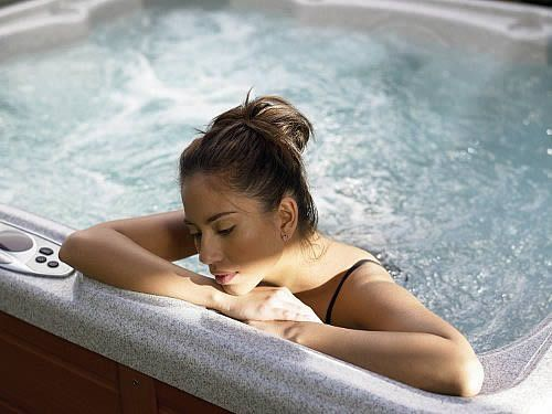 Relaxing Hot Spa to melt away the daily stress of life.