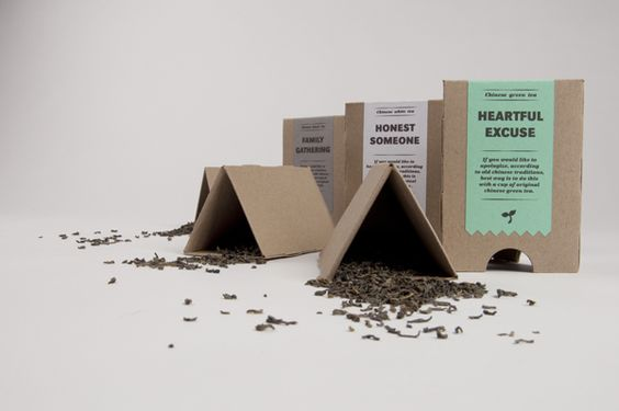 Tea package – Chinese tea traditions by Michal Marko, via Behance