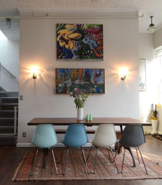 Jocelyn Scrapes Back Her Loft  Meer wooninspiratie en binnenkijkers op mijn interieurblog http://www.interieurinspiratie.nl/