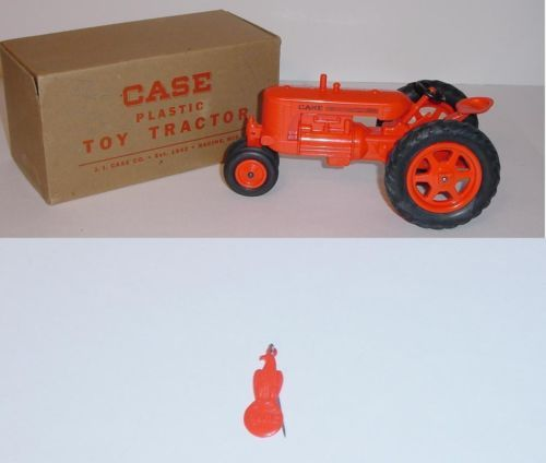 1 16 Vintage Case Sc Tractor By Monarch W Box Farm Toys Tractor Toy Tractors