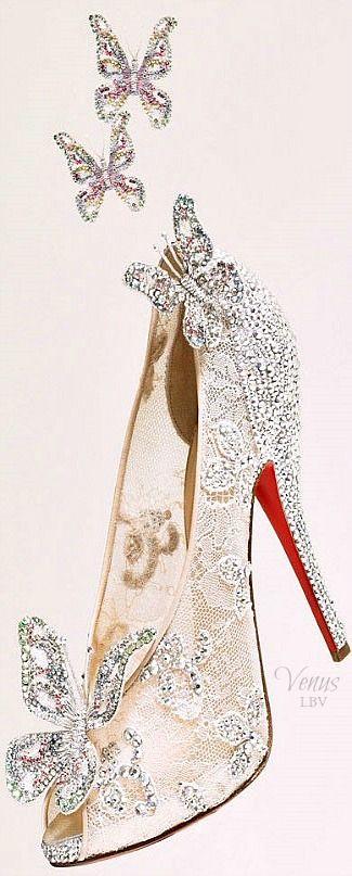 "Christian Louboutin ♥✤ ""Cinderella"" Shoe"