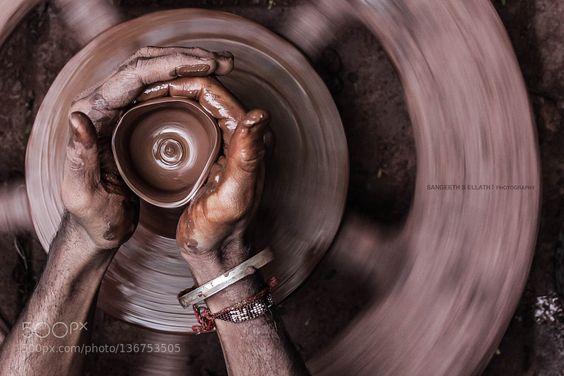 Fine #ArtAn Art Shaped In Clay by SangeethSEllath