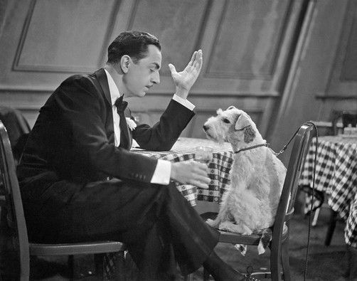 William Powell and friend