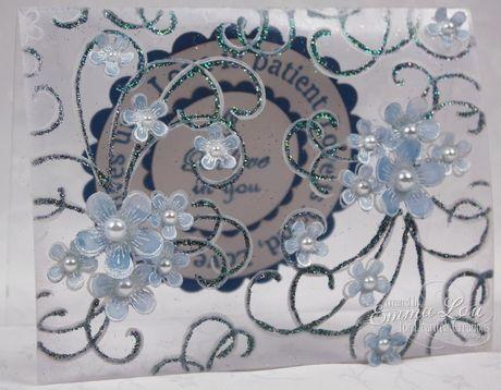 Heartfelt Creations | Clear Posy Patch Swirl Card