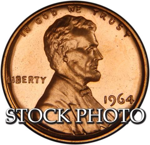 1964 Lincoln Cent Gem Proof