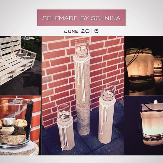 #selfmade #selfmadepalette #diy #upcycling #palettenmöbel #palletgarden #pallet #garden #deko #dekoration #candle #candlelight #beton #kerzenständer #outdoors #outside #project #doityourself #halternamsee #photography #photo
